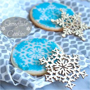 Snowflake Cookies – Simply Sated