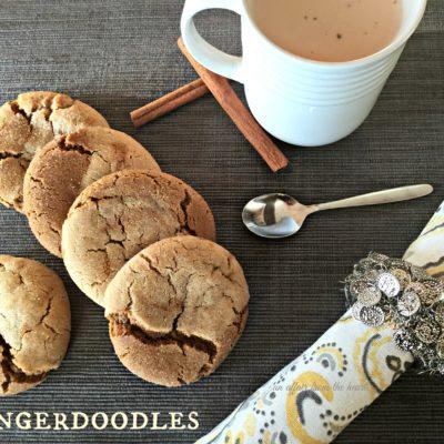Gingerdoodle Cookies