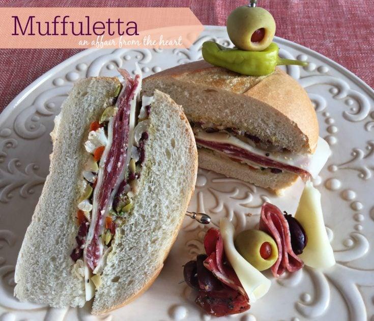 Muffuletta --with an Antipasto Twist