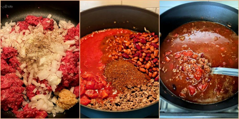 Three Bean Chili A Simple From Scratch Chili Recipe