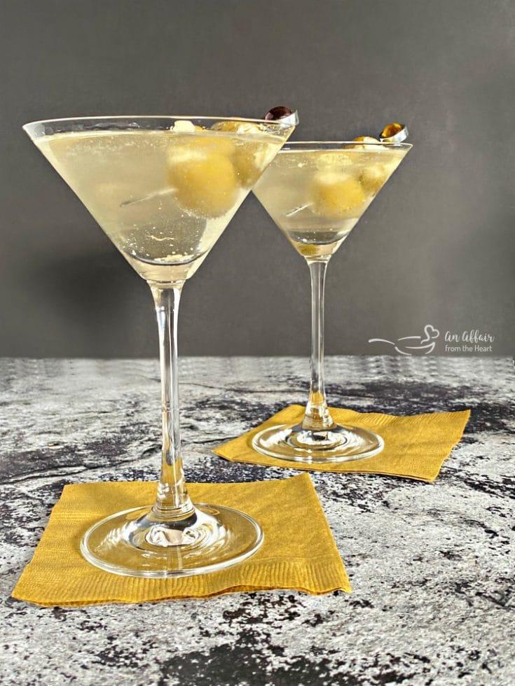 Two Dirty Bird Martinis