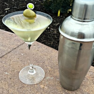 Dirty Vodka Martini