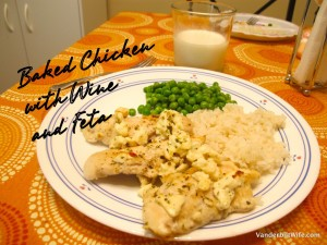 Baked Chicken Tenderloins with Wine and Feta Cheese - – Jessie Weaver The Vanderbilt Wife