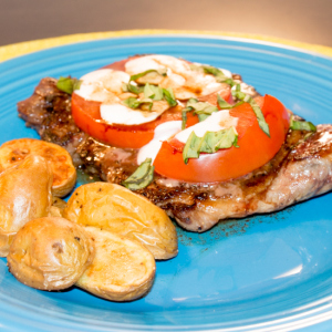 Caprese Steak - Sew You Think You Can Cook
