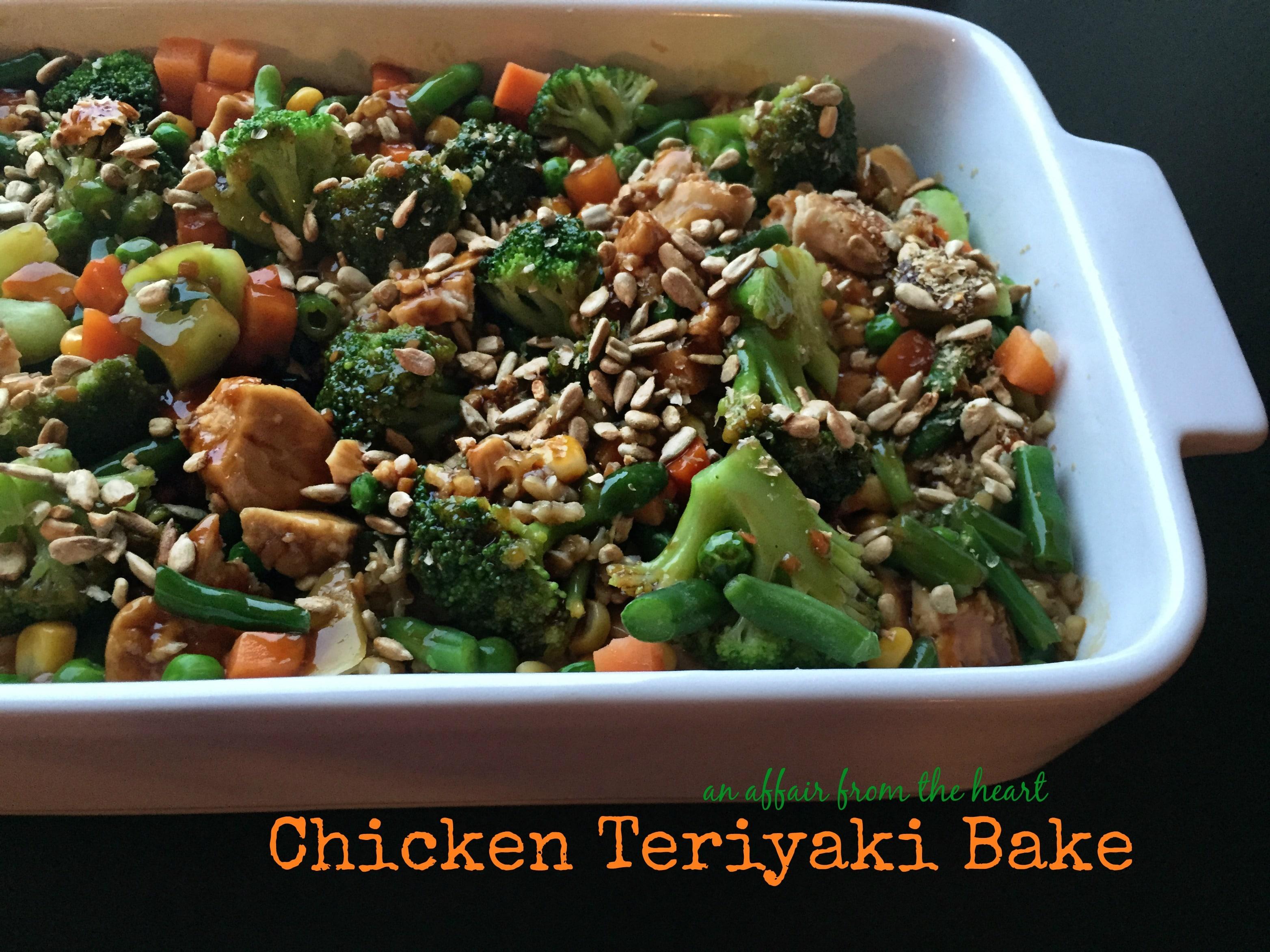 Chicken Teriyaki Bake