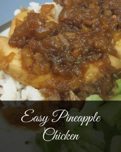 Easy Pineapple Chicken -– Jessie Weaver The Vanderbilt Wife