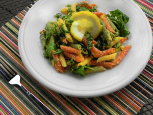 Lemony Kale Pasta - The Pajama Chef