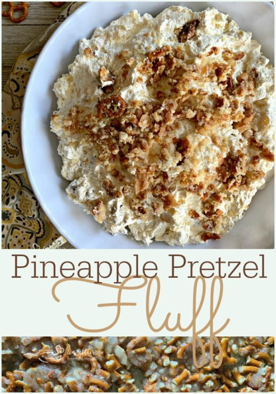 Pineapple Pretzel Fluff