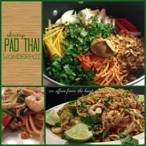 Shrimp Pad Thai Wonder Pot - An Affair from the Heart