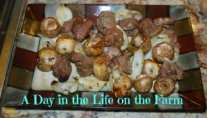 Steak Kabobs - A Day in the Life on the Farm