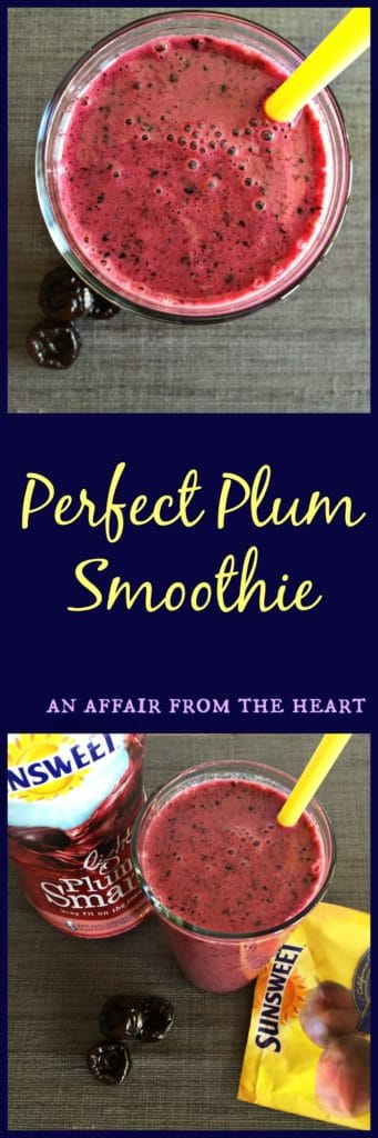 perfect plum smoothie