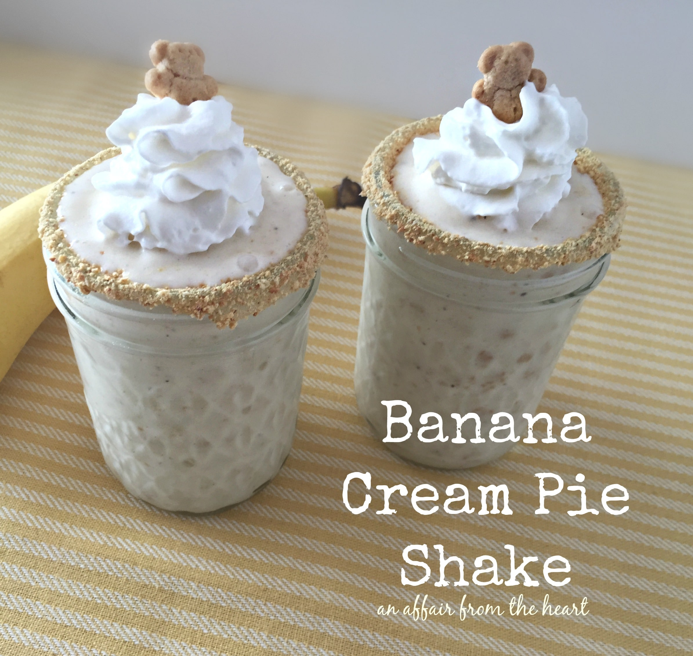 banana cream pie shake