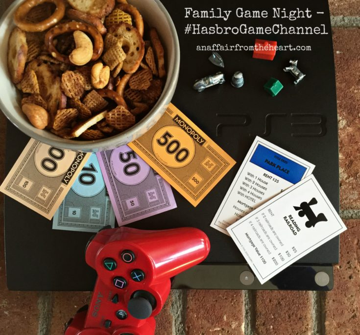 crock pot chex mix - hasbro game channel monopoly