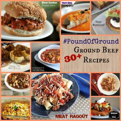#PoundOfGround – 30+ Ground Beef Recipes