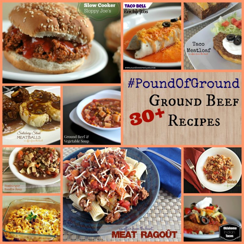 30+ Ground Beef Recipes