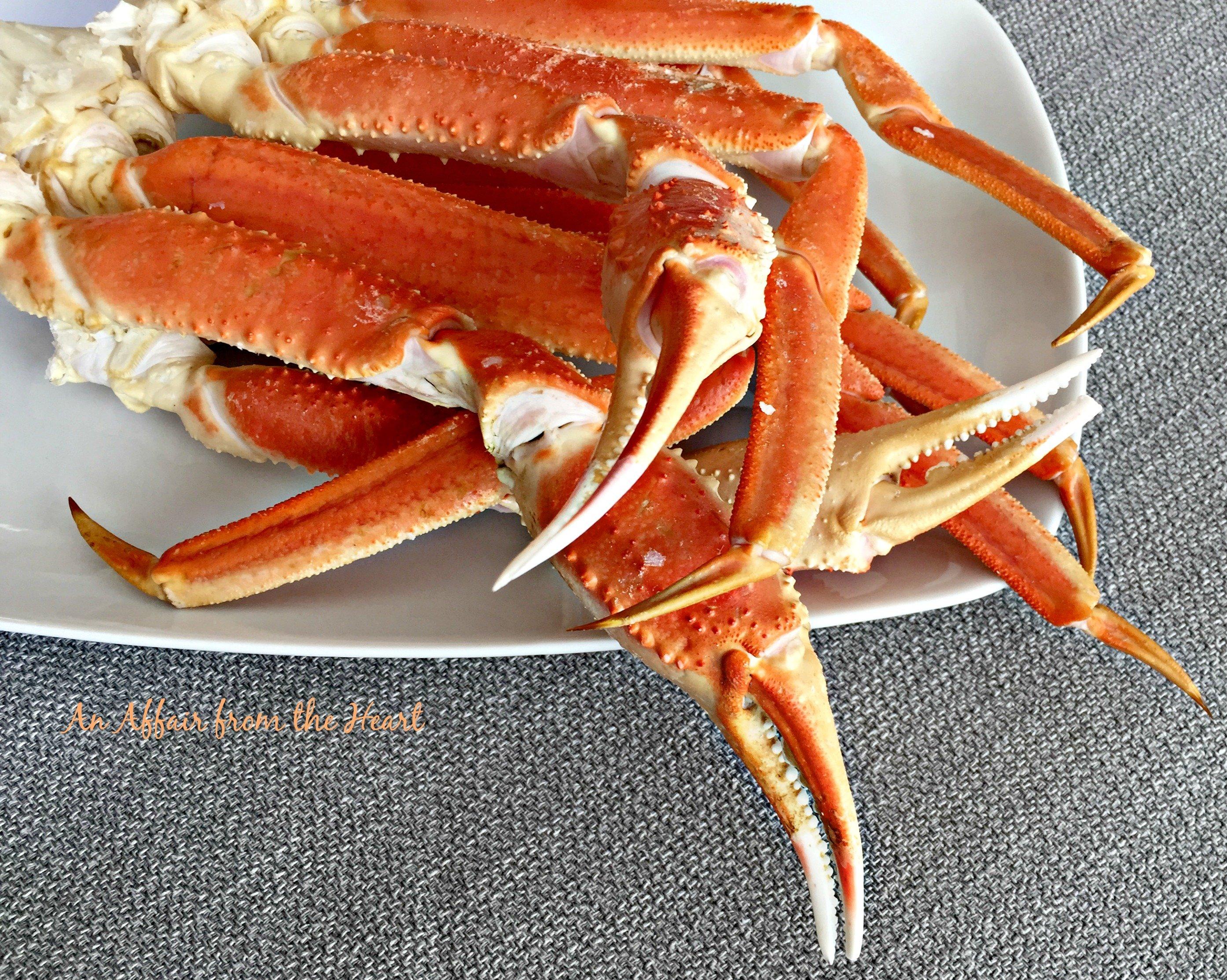 alaskan snow crab mac u0027n cheese an affair from the heart