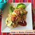 Fork & Knife Chicken Tacos - An Affair from the Heart