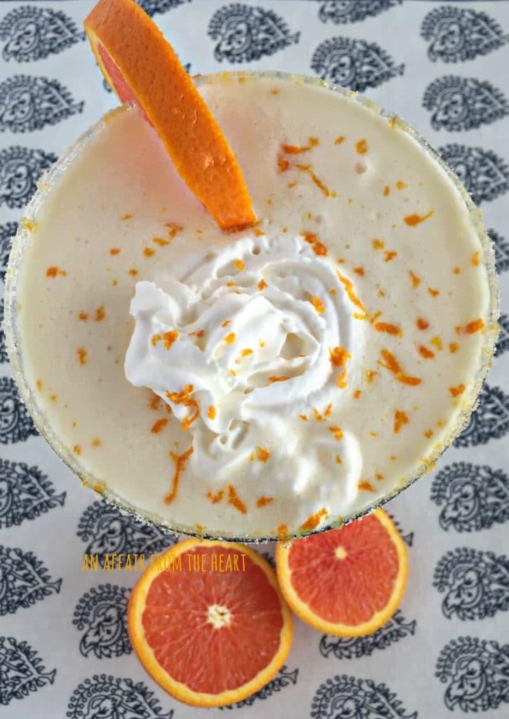 Grown Up Orange Julius - An Affair from the Heart