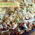 breakfast hashbrown pizza