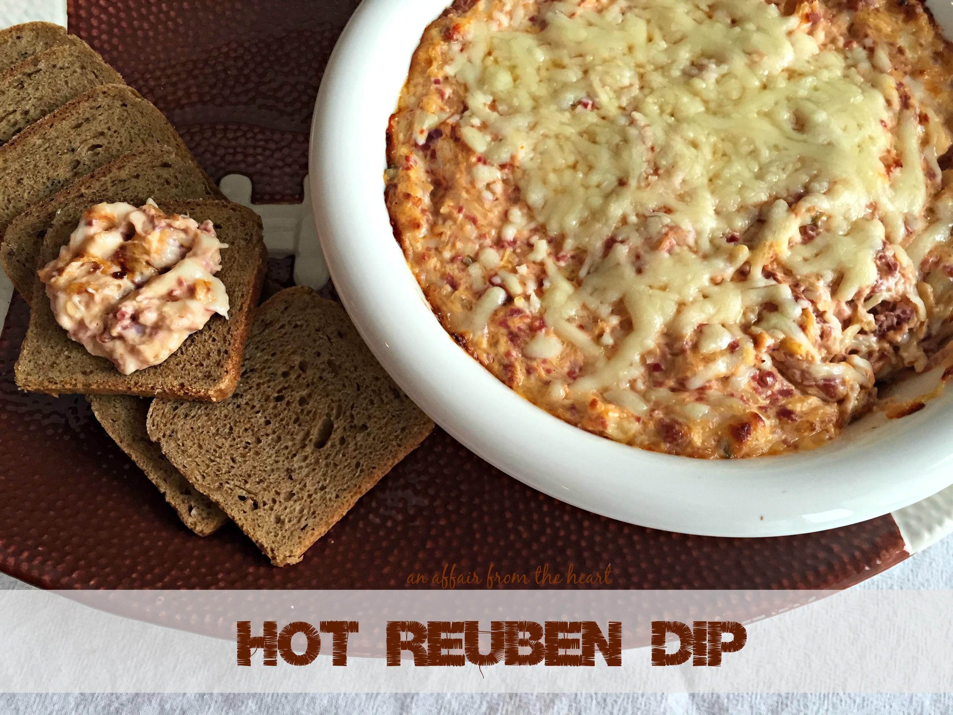 Hot Reuben Dip | An Affair from the Heart