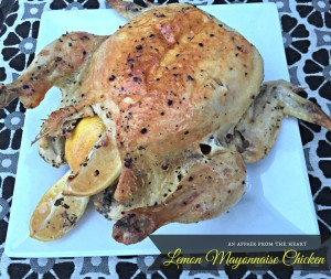 lemon mayonnaise chicken