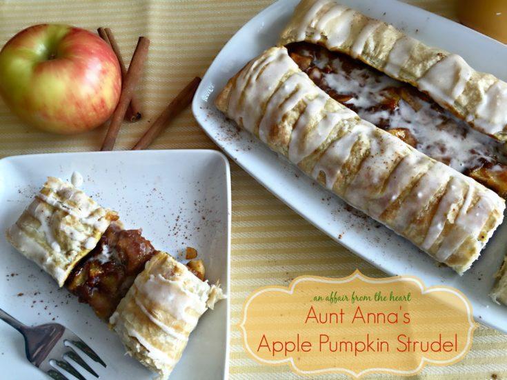 Aunt Anna's Apple Pumpkin Strudel