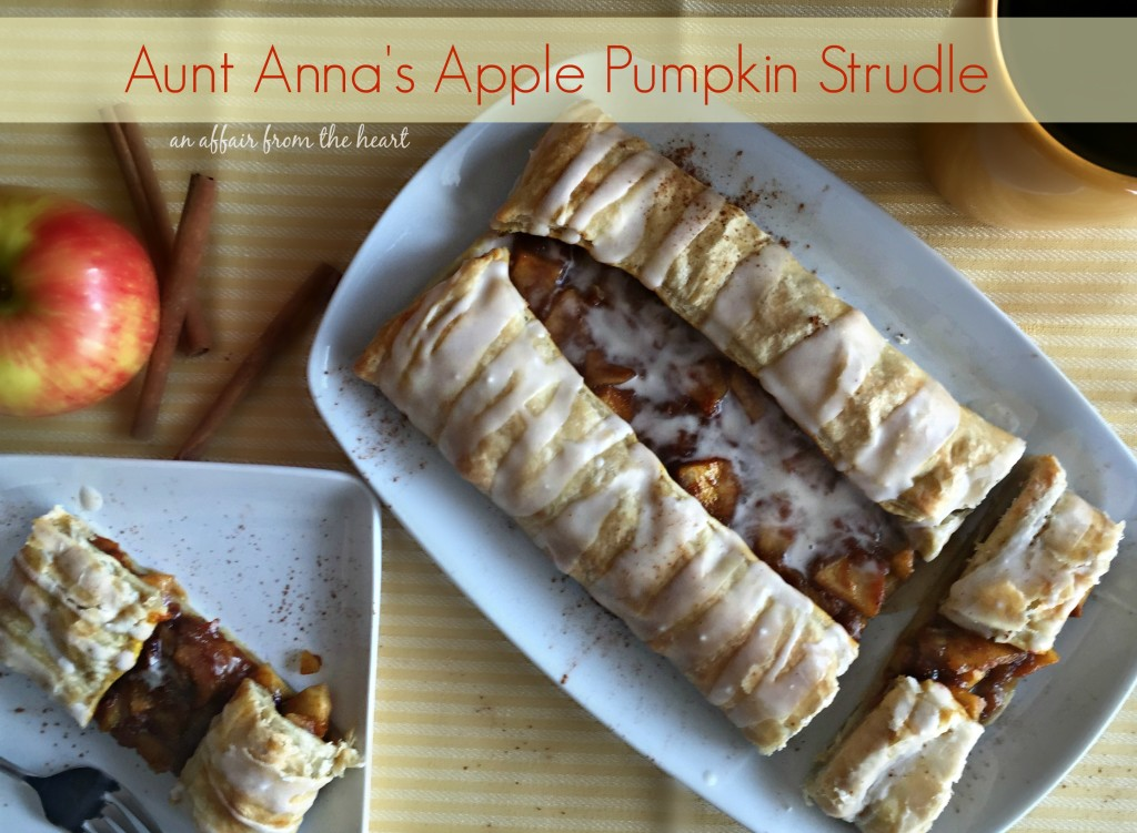 Aunt Ann's Apple Pumpkin Strudel