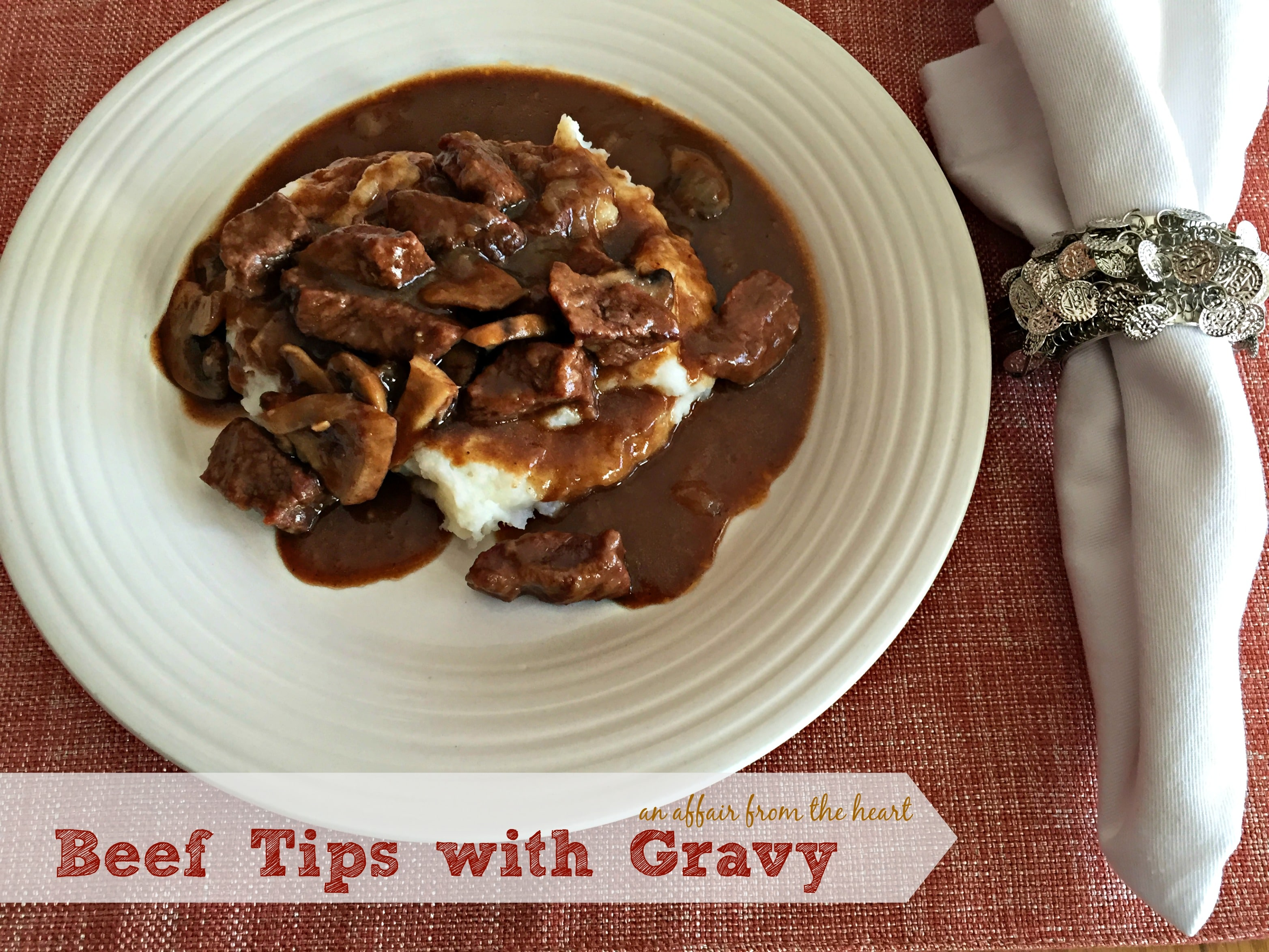 Beef Tips With Gravy