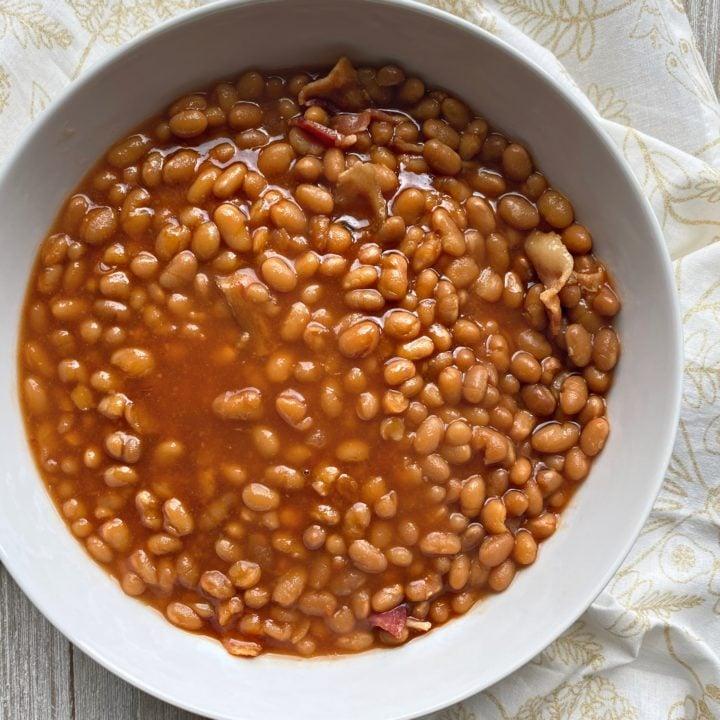 Grandma S Baked Beans Easy Baked Beans Recipe