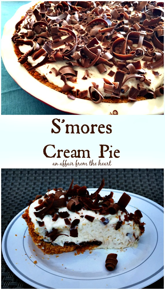 S'Mores Cream Pie