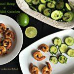Blackened Shrimp & Crisp Chilled Cucumbers