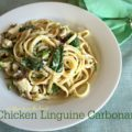 Chicken Linguine Carbonara
