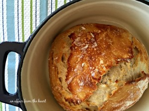 No Knead Crusty Dutch Oven Bread