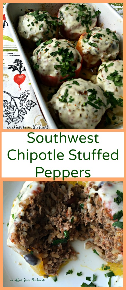 Southwest Chipotle Stuffed Peppers c