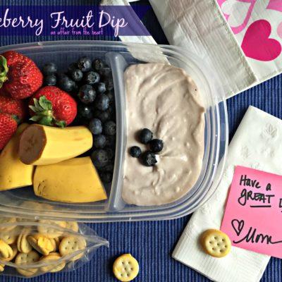 Blueberry Fruit Dip