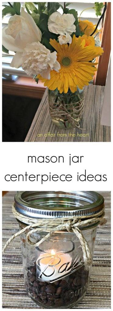 Mason Jar Centerpieces Ideas