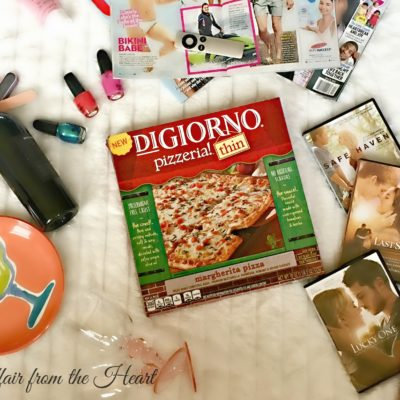 Girls Night In with DiGiorno Pizzeria Thin