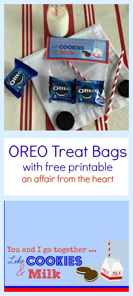 Oreo Treat Bags with Free Printable