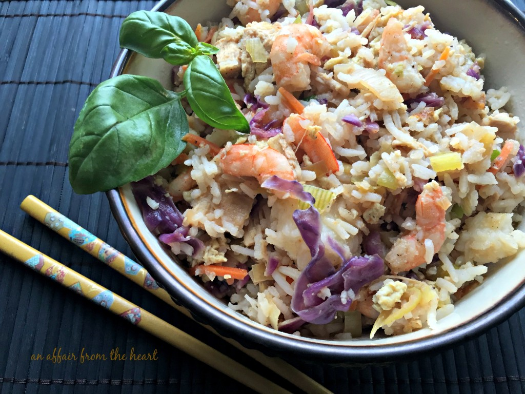 Ginger & Basil Fried Rice | An Affair from the Heart