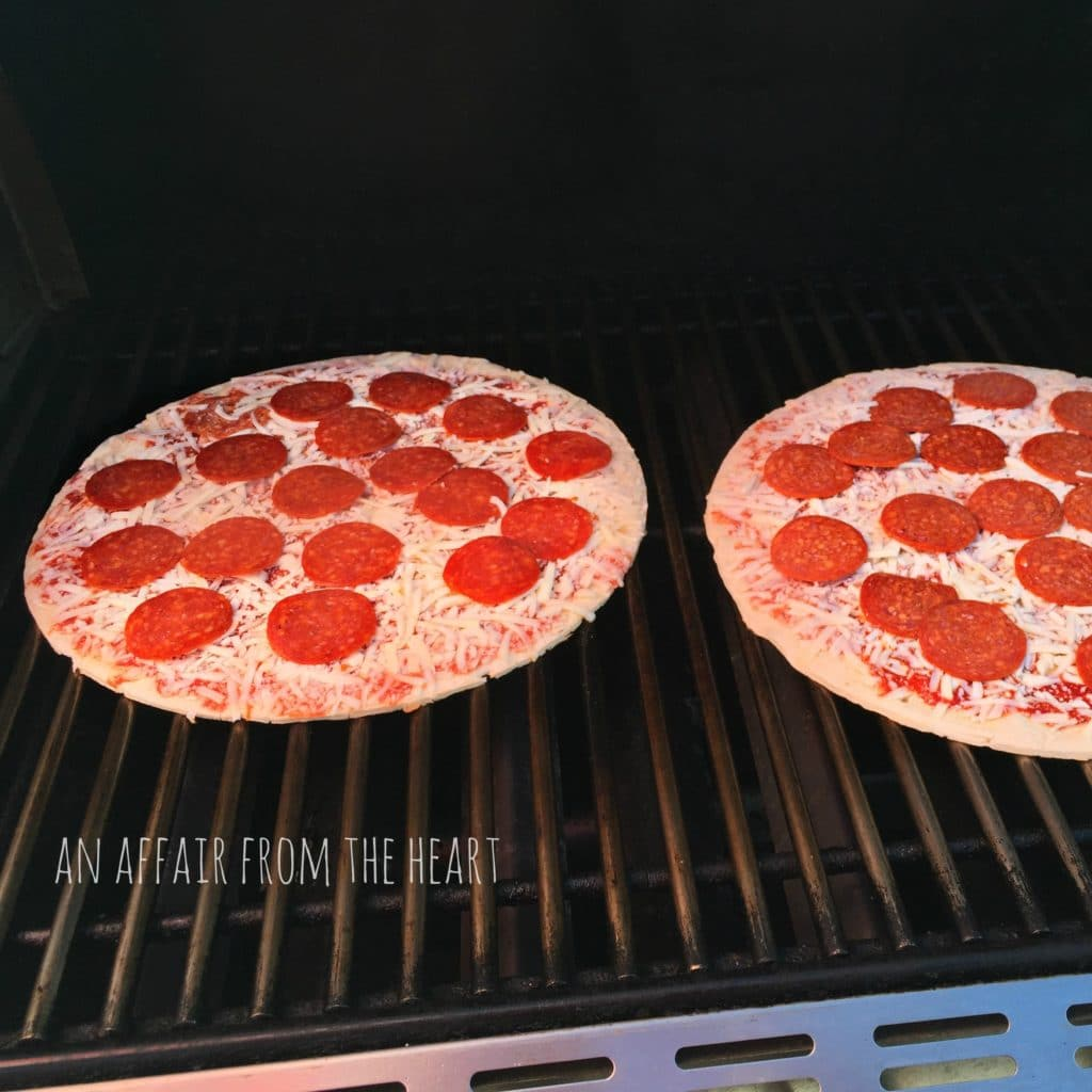 Grilling Jack's Pizza