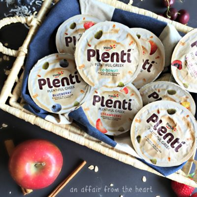 Keeping Satisfied – the Healthy Way with Plentí Greek Yogurt #LandofPlentí