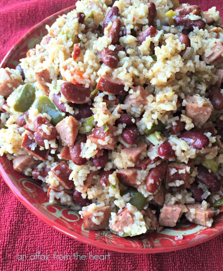 Skillet Red Beans & Rice