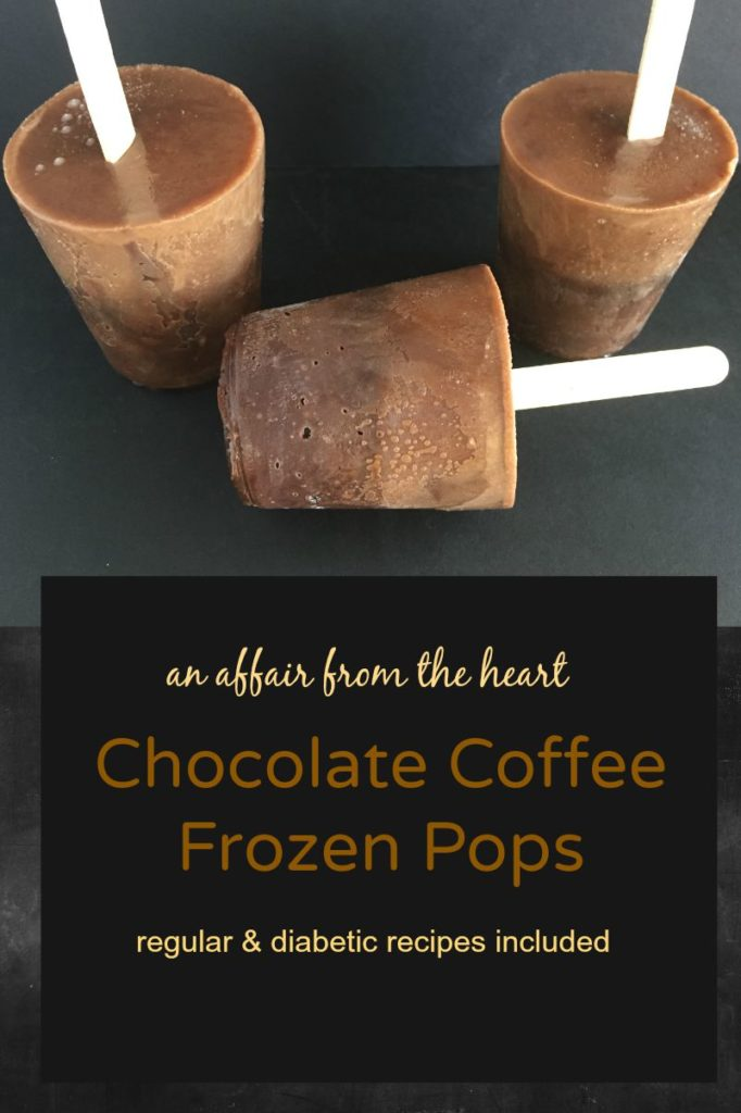 Chocolate Coffee Frozen Pops