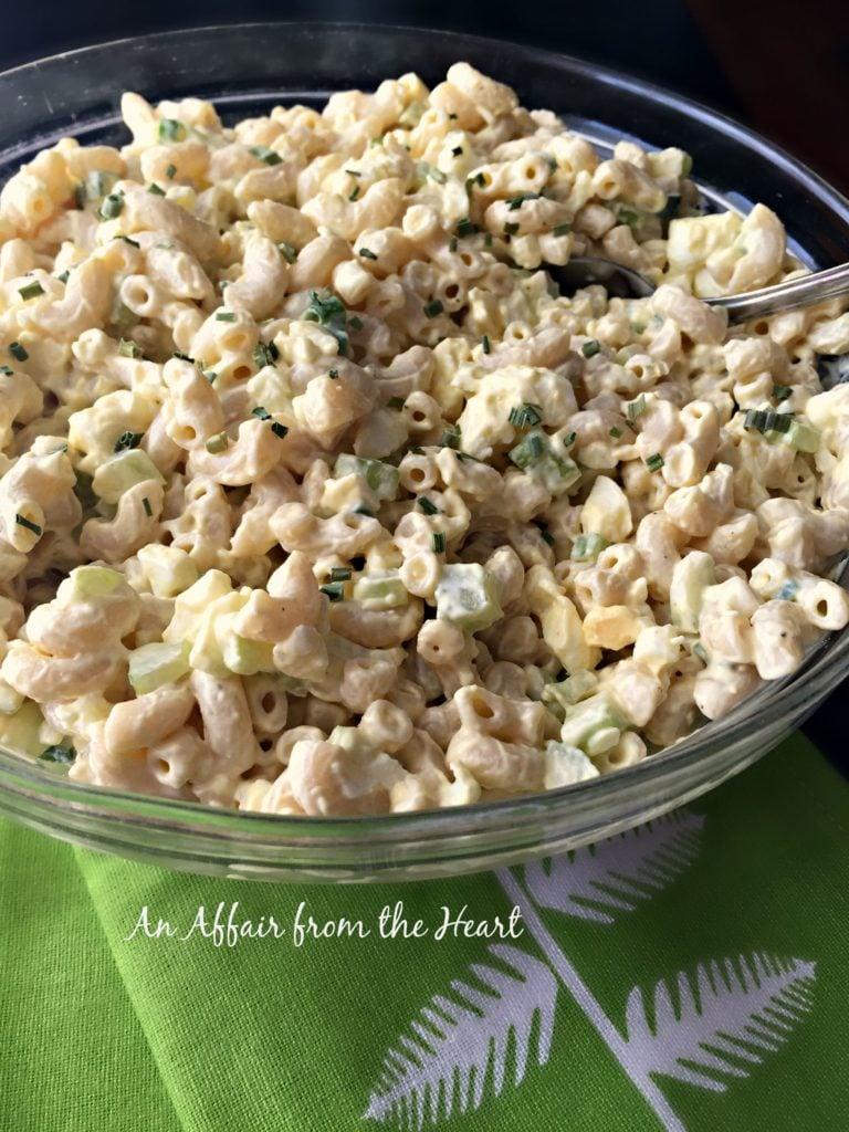 Mom's Macaroni Salad #FinestGrillathon | An Affair from ...