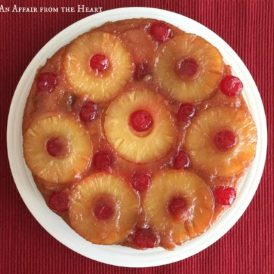 {from scratch} Pineapple Upside Down Cake
