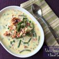 Potato, Green Bean & Bacon Soup