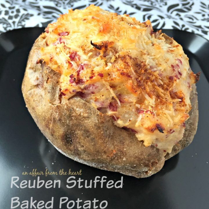 Reuben Stuffed Baked Potatoes Are The Best Of Both Worlds