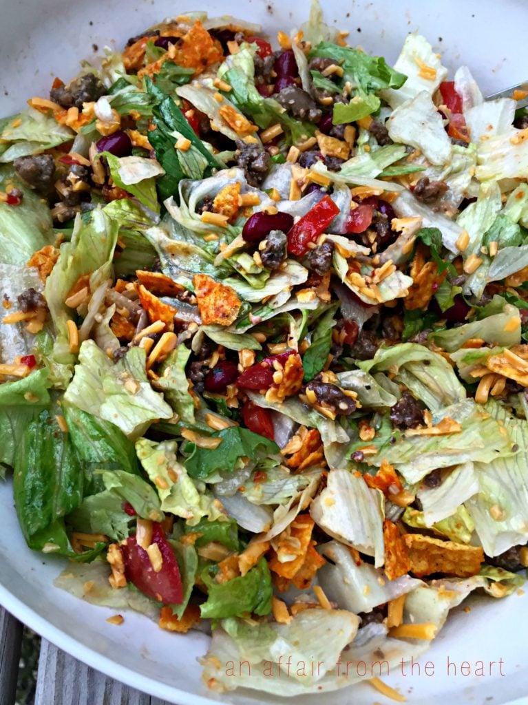 Taco Salad For One Recipe — Dishmaps