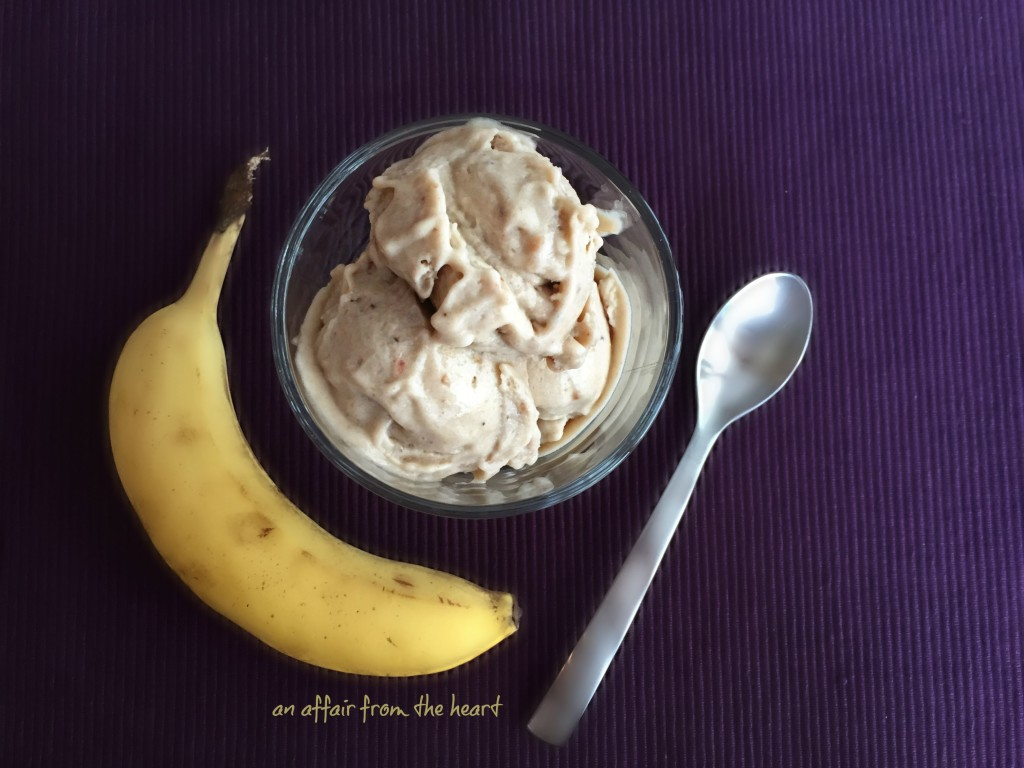 two ingredient banana peanut butter ice cream recipe two