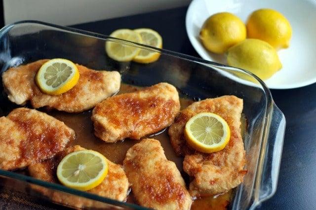 Brown Sugar & Lemon Chicken Breasts